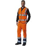 Gilet SiGGi WORKWEAR HV 60% poliestere, 40% cotone taglia xxxl arancione