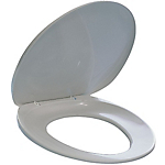 Sedile WC DURABLE 43,5 x 29 x 4 cm bianco