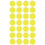 Etichette autoadesive APLI Giallo 168 etichette