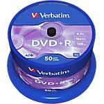 DVD+R Verbatim 4.7 gb 50 unità