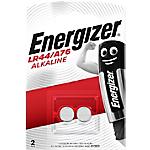 Pile a bottone Energizer LR44 2 unità