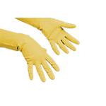 Guanti Vileda Multiuso Gomma taglia m giallo 10 unità