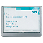 Targa DURABLE Click Sign a muro 14,9 x 1,57 x 10,6 cm