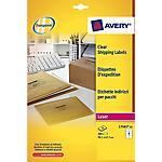 Etichette multifunzione AVERY Zweckform L7567 25 Trasparente 25 etichette 25 Fogli