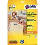 Etichette multifunzione AVERY Zweckform L4736Rev 25 Bianco 1200 etichette 25 Fogli