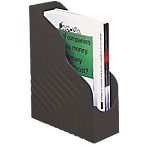 Portariviste Rexel Jumbo nero A4 polistirene 10 (l) x 25,3 (p) x 32,3 (h) cm Documenti in formato A4