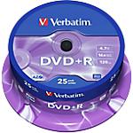 DVD+R Verbatim 4.7 gb 25 unità