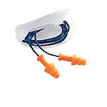 Inserti auricolari con cordoncino Honeywell Smartfit Schiuma poliuretanica edilizia, chimica e farmaceutica arancione 50 unità