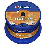 DVD R Verbatim 4.7 gb 50 unità