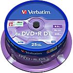 DVD+R Verbatim 8.5 gb 25 unità