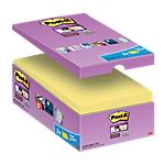 Notes riposizionabili Post it 76 x 127 mm giallo canary 16 unità da 90 fogli