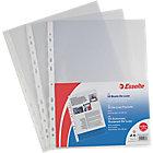 Buste a perforazione Esselte Office A4 universale Trasparente polipropilene 22 (l) x 30 (h) cm 50 unità