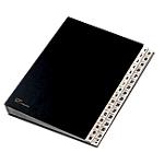 Classificatore numerico Fraschini 24 x 34 cm nero cartoncino accoppiato