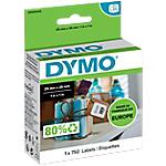 Etichette rimovibili DYMO Multiuso 25 x 25 mm bianco 750 etichette