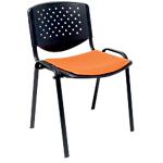 Sedia per visitatore D400 arancione
