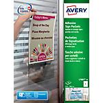 Tasche adesive Avery L7083 10 A4 21 x 29.7 cm 10 fogli da 1 etichetta