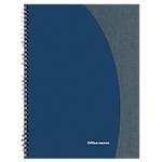 Blocco spiralato Office Depot Blu A quadretti 4 fori A4 21 (l) x 29,7 (h) cm 80 g