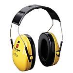 Cuffia attenuazione rumore 27 dB (SNR) 3M Peltor Optime I Gommapiuma giallo