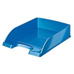 Vaschetta portacorrispondenza Leitz Wow Blu polistirene 25,5 x 35,7 x 7 cm