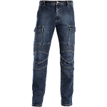 Jeans SiGGi WORKWEAR Biker 70% cotone, 28% poliestere, 2% elastan taglia xs blu