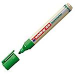 Marcatore per lavagna edding 28 EcoLine tonda verde 10 pezzi