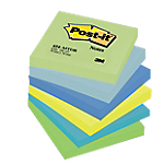 Notes riposizionabili Post it 76 x 76 mm Assortiti 6 unità da 100 fogli