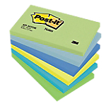 Notes Post it 127 x 76 mm Assortiti 6 unità da 100 fogli
