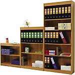 Libraria Eco 2 ripiani marrone 760 x 290 x 1.230 mm