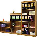 Libreria Eco 4 ripiani marrone 760 x 290 x 1.860 mm