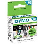 Etichette multiuso DYMO 13 x 25 mm bianco 1000 etichette