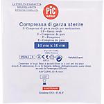 Compresse di garza sterile PVS per compressione e per assorbimento 10 unità