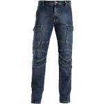 Jeans SiGGi WORKWEAR Biker 70% cotone, 28% poliestere, 2% elastan taglia m blu