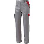 Pantaloni SiGGi WORKWEAR Danubio Poliestere 65% Cotone 35% taglia xxxl Grigio, rosso