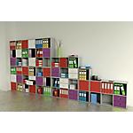 Libreria 3 caselle Grigio 359 x 292 x 1.039 mm