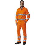 Pantalone SiGGi WORKWEAR Alta visibilità Cotone, poliestere taglia m Arancione