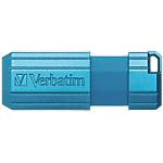 UnitàUSB Verbatim PinStripe 32 gb blu