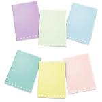 Quaderni Pigna Monocromo pastel Assortiti 5M a quadretti A4 21 x 29,7 cm 80 g