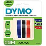 Nastro etichetta DYMO S0847750 S0847750 nero, rosso, blu 0,9 cm 3 unità