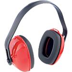 Cuffia antirumore Honeywell QM24+ Plastica edilizia e ingegneria meccanica, industria nero, rosso