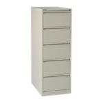Classificatore Bisley 5 cassetti cassetti bianco