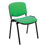 Sedia per sala d'attesa Classic verde