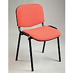 Sedia per sala d'attesa Ergosit Classic arancione