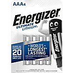 Pile al litio Energizer Ultimate Lithium AAA 4 unità