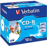 CD R Verbatim 52x 700 mb 10 unità