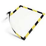 Cornice magnetica DURABLE A4 nero, giallo 5 unità