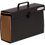 Organizer espandibile Fellowes Bankers Box A4 nero cartoncino