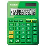 Calcolatrice da tavolo Canon LS123K a batteria, solare verde
