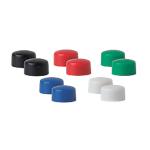 Magneti per lavagna bianca Niceday 10MM assortiti 1 (p) x 1 (h) x 1 (Ø) cm 10 unità
