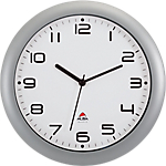 Orologio da parete al quarzo Alba 30 x 5,5 cm grigio, bianco
