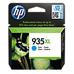 Cartuccia inchiostro HP originale 935XL ciano C2P24AE